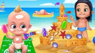 Babysitter First Day Mania - Baby Care Crazy Time - Baby Games - Fun Kids Games