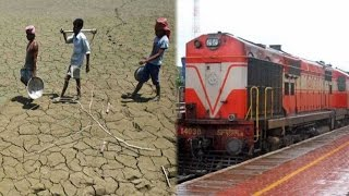 Latur water crisis : Train carrying water reaches drought hit Marathwada