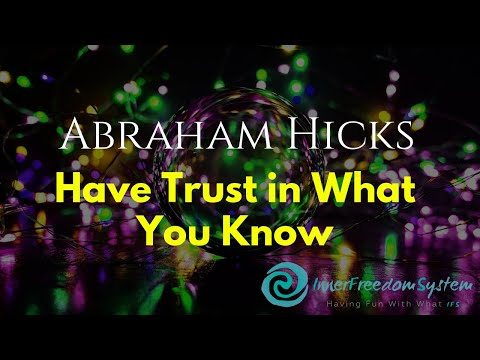 Xxx Mp4 Abraham Hicks Have Trust In What You Know 3gp Sex