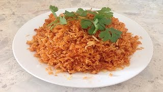 Vietnamese Red Rice with Tomato Paste - Com Do