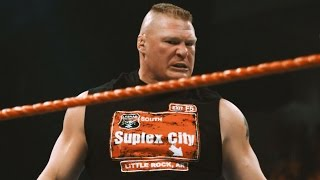 Brutal slow-motion footage of Brock Lesnar