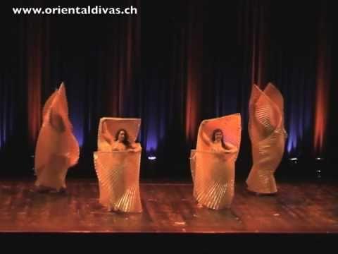 Oriental Divas Isis Wings performance