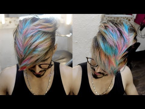 Xxx Mp4 Snow White Pink Bubblegum Blue Rainbow Highlights Hair Color Transformation 2018 Ratan Singh 3gp Sex