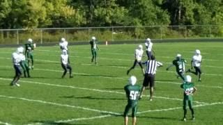 Heskett 8th grade vs Lorain Wilson 10-5-16 Part 1
