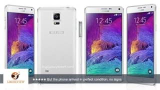 Samsung Galaxy Note 4 N910a 32GB Unlocked GSM 4G LTE Smartphone - White   | Review/Test