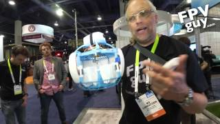 FLEYE the safe drone - FPVguy CES 2016