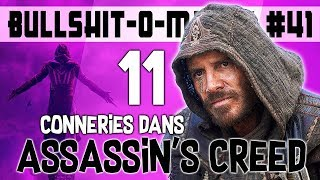 11 CONNERIES DANS ASSASSIN'S CREED - BOM #41