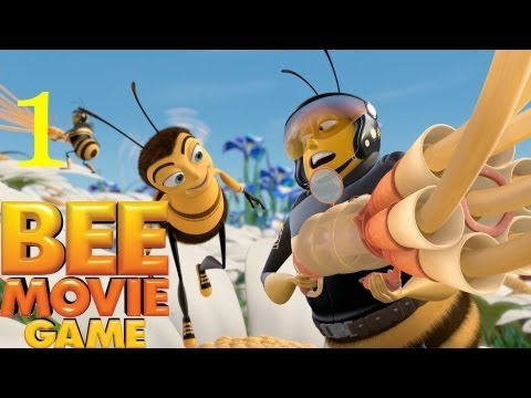 Bee Movie Game The Voice of Comedy Jerry Seinfeld Walkthrough part 1 In 1080p