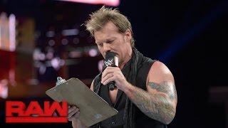 Chris Jericho unveils