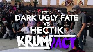 Hectik Vs Dark Ugly Fate | Krumpact 2018 | Krump Top8