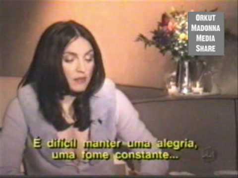 (P2) Madonna's Bizarre Interview With Brazilian Journalist