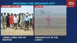 Maharashtra Water Crisis: Water Tanks For Khadse's Helipad
