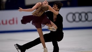 Kaitlyn Weaver, Andrew Poje's free dance at 2016 Cup of China   CBC Sports