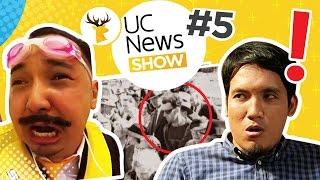 BERITA HEBOH 2017! Turis dimasak keunikan apa lagi? GIFT Go-pro5 di UC News Show #5