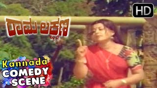 Kids gets tiger home scenes   Rama Lakshmana Kannada Movie   Kannada Comedy Scenes   M P Shankar