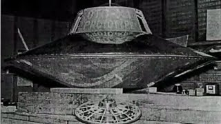 The world's first flying saucer - Nikola Tesla - The world