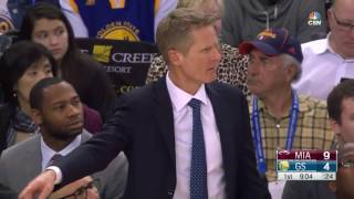 NBA Miami Heat vs Golden State Warriors 14.01.17