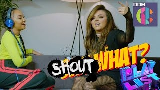 Little Mix play SHOUT What? | CBBC Official Chart Show