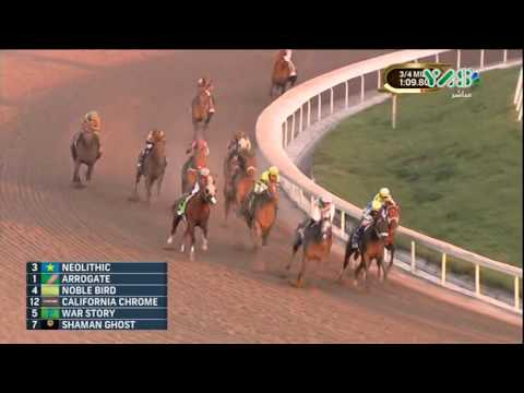 Arrogate wins the world's richest horse race Pegasus World Cup 2017