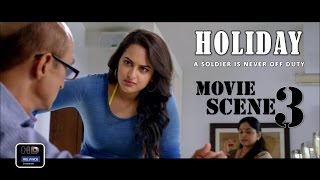 Holiday (2014) Official Movie Scene #3 | Akshay Kumar,Sonakshi Sinha