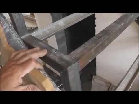 Как сделать лестницу своими руками видео часть первая