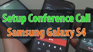Samsung Galaxy S4: How to Setup a Conference Call Using Call Merge