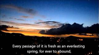 Nazm - Jamal-o-Husn-e-Quran Noor-e-Jan-e Har Musalman Hay - ( English)