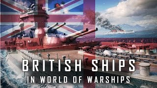 World of Warships British Ships Hype! - Tech Tree Speculation & More!
