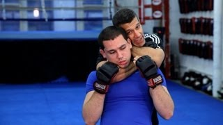Rear Naked Choke (RNC) Back Submission | MMA Fighting
