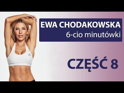 Trening część 8 6 minut Ewa Chodakowska