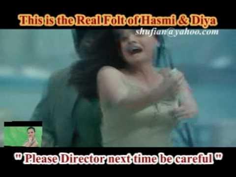 DIYA Mirza and Imran Hasmi Cinema Nude Action