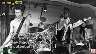 God Save the Queen - SEX PISTOLS 《with Lyrics》 セックス・ピストルズ 《歌詞付き》