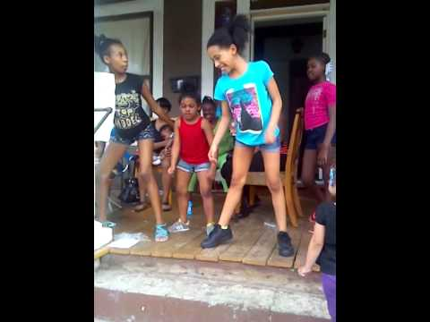 Red nose dancing lil kids