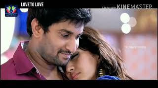 Nani love romantic kiss - Love status don't miss it frds