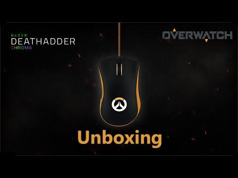 Razer Overwatch DeathAdder Chroma Unboxing