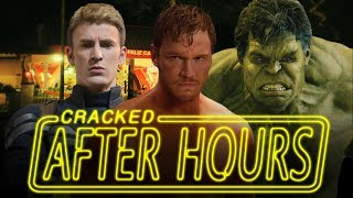 After Hours - Awkward Scenes That Must Have Happened In Marvel Movies (Captain America, The Hulk)