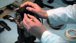How to Disassemble PMW-EX1 HD Camera