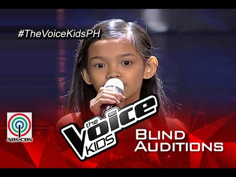 """The Voice Kids Philippines 2015 Blind Audition: """"Till I Met You"""" by Zephanie"""
