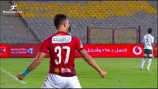 """الهدف الثاني لـ الأهلي امام المصري """" صلاح محسن """" الجولة الـ 28 الدوري المصري"""