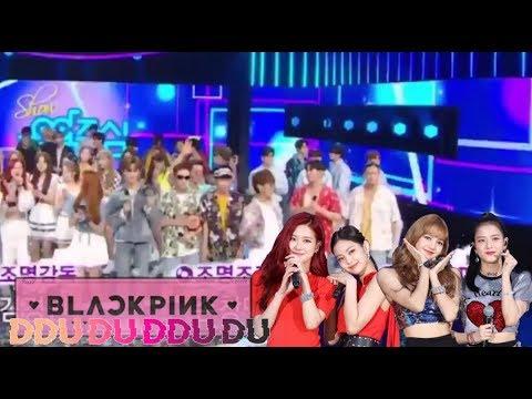 (Part 36) K-Idols Dancing and Singing to BLACKPINK Songs