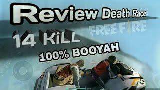 PENJELASAN GAMEPLAY DEATH RACE AUTO BOOYAH (Free fire battleground V 1.15.6)