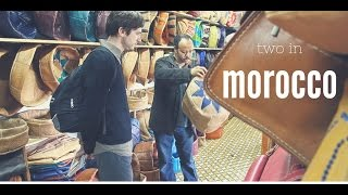 TWO in: Morocco - Leather business in Fes