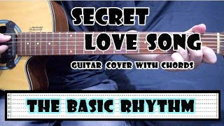 Secret Love Song - Little Mix | Guitar Cover with Chords : No Capo