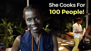 She Cooks for 100 People! (in Timor-Leste)