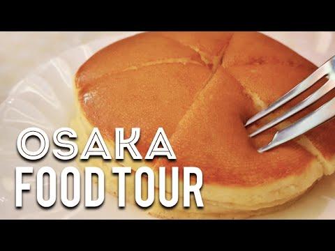 Japanese Food Tour in OSAKA JAPAN
