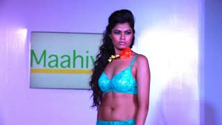 maahivie lingerie fashion show (kolkata)