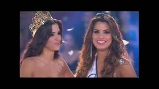 coronación de Paulina Vega y Ariadna Gutierrez