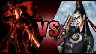 Dante VS Bayonetta - DEATH BATTLE!: Legendado