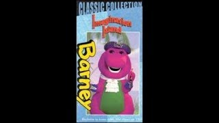Barney's Imagination Island 1999 VHS