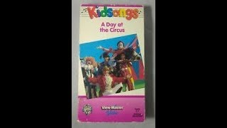 Opening To Kidsongs:A Day At The Circus 1998 VHS